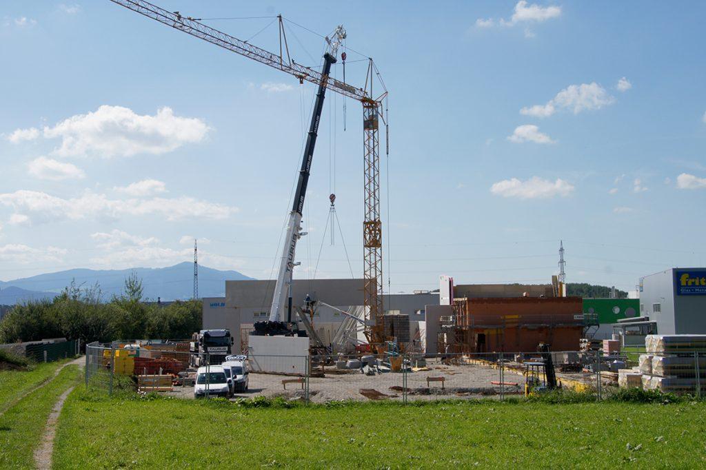 Kellererbau GmbH Anthering Salzburg vergrößert sich