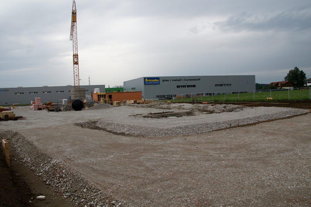 Kellerer Anthering vergrößert sich Neubau des Bürogebäudes