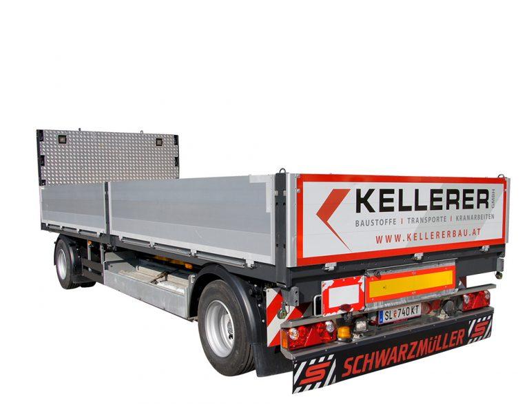 Anhänger LKW Kellerer Salzburg