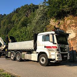 Tieflader Transporte Kellerer Anthering Salzburg
