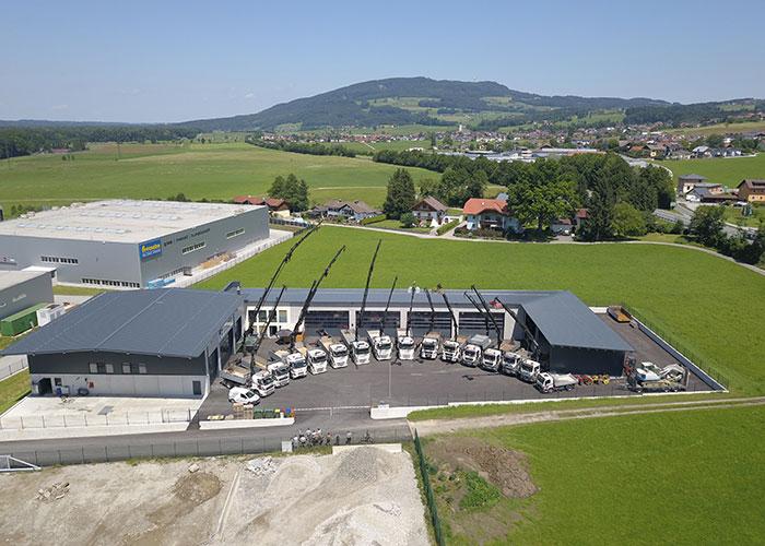 Das neue Firmengebäude der Firma Kellerer GmbH in Anthering bei Salzburg