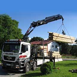 Spezialtransporte Sondertransporte Kellerer Anthering