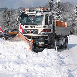 Winterdienst Kellerer-Bau Anthering