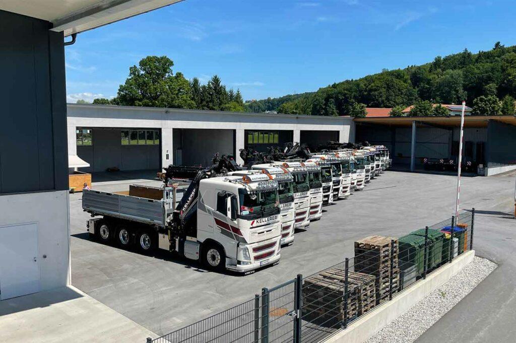 Kellerer Bau Anthering LKW